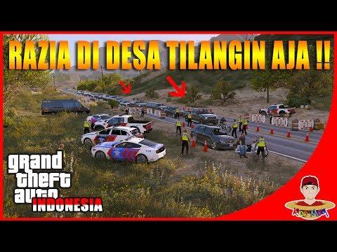 GTA V MOD INDONESIA (13) - KITA ADAIN RAZIA RAMADHAN DI JALAN😂😂