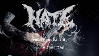 Hate – Sovereign Sanctity (Official guitar playthrough)
