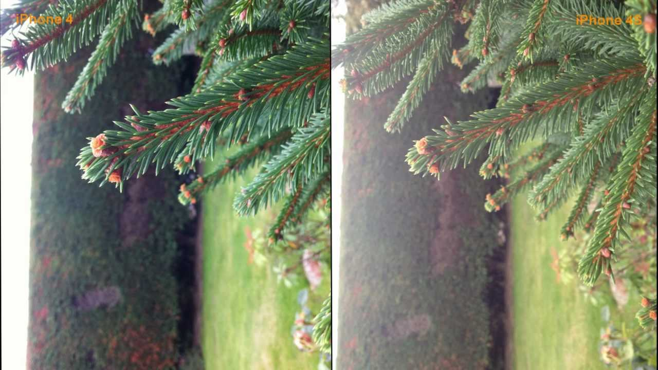 iPhone 4s vs iPhone 4 Camera Quality test