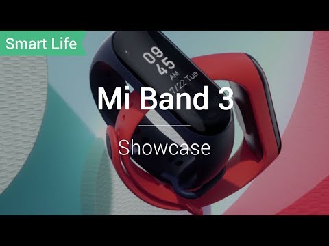 Mi Band 3: Large OLED Screen and 20-days Battery Life