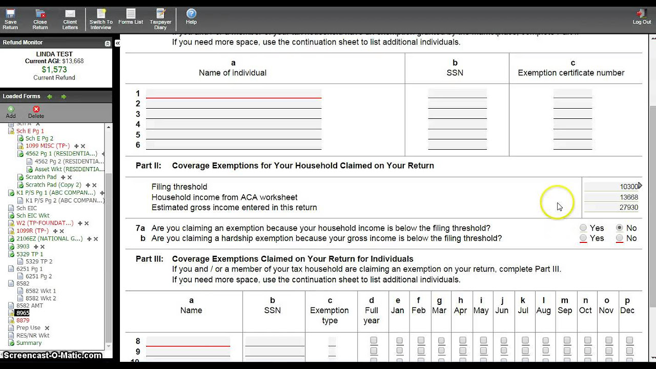 Uncategorized Exemption Worksheet form 8965 health coverage exemptions and instructions obamacare facts