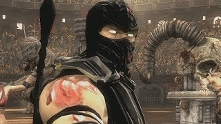 Mortal Kombat Komplete PC Black Scorpion Test Your Luck