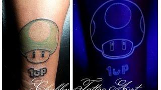 Tatuaje Ultravioleta Con Tinta Invisible Bloodline Uv 1up By Pro