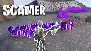 😱SCAMER DUPLICATE FINISHED AND PASS THIS... FORTNITE SAVE THE WORLD BY HUNTING SCAMERS