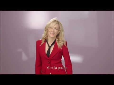6b6c1ae333d3 Perfume Sí Passione de Giorgio Armani - Cate Blanchett 2018 Anuncio  Publicidad Comercial - YouTube