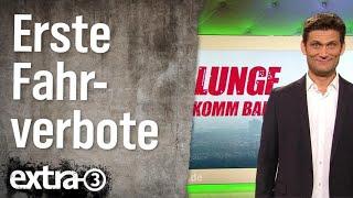 Erste deutsche Stadt mit Fahrverbot für alte Diesel