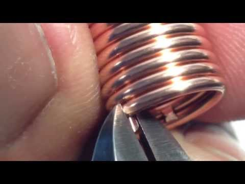 Chainmaille Quick Tip 1 - How To Cut The Perfect Jump Ring