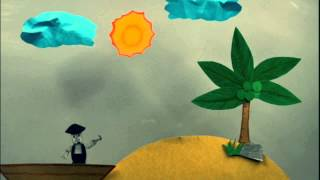 PAPER CUT OUT ANIMATION - PIRATE JR