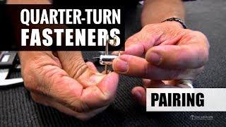 Quarter-Turn (Dzus) Fastener Pairing