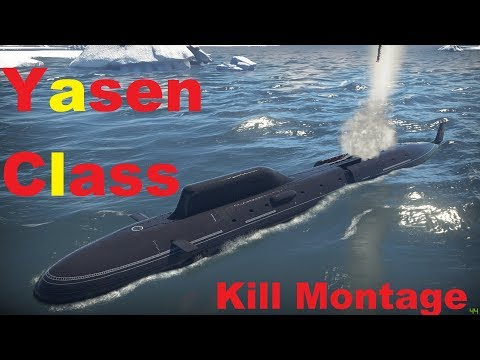 [War Thunder]The Soviet Submarine-Yasen Class