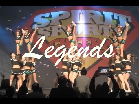 Cheer Extreme Legends Level 4 BATB 2015
