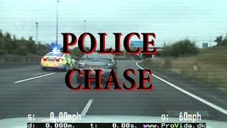 UK Police Chase Drug Dealers