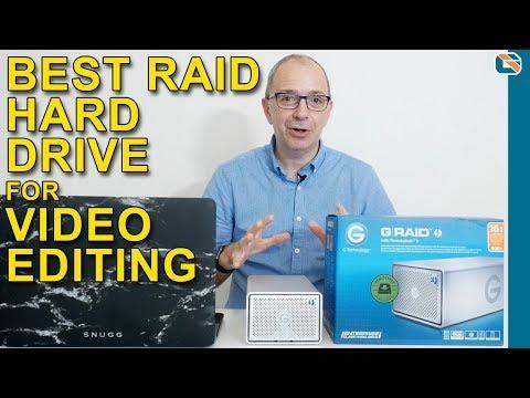 G-Technology G-RAID Thunderbolt 3 Hard Drive Review & Speed Test