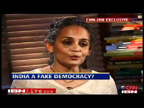 Arundhati Roy: Maoists being forced into violence