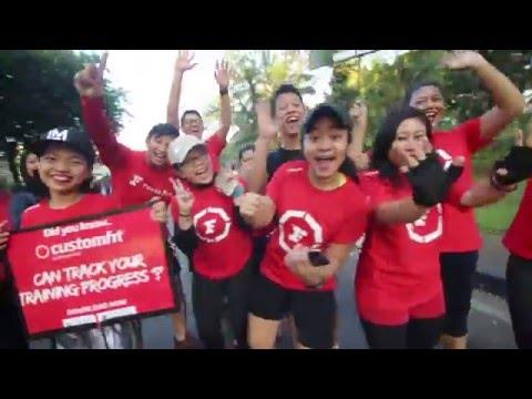 Fitness First Car Free Day Jakarta
