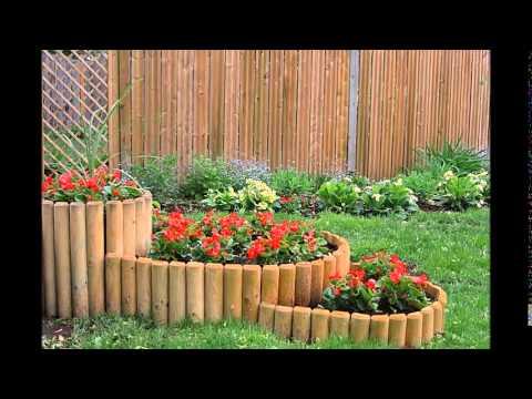 Очаровательные деревянные клумбы. 32 идеи фото деревянные клумбы