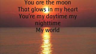 Michael Jackson - You Are My Life. (Lyrics).