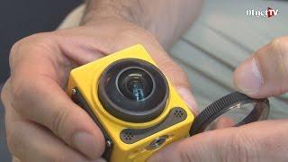 Présentation de la Kodak PixPro SP360 : une action-cam qui filme à 360°