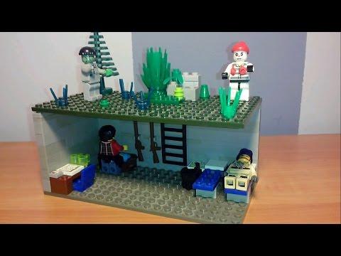 Как построить базу из лего