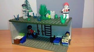 LEGO Cамоделка #6 на тему Зомби Апокалипсис (Бункер)