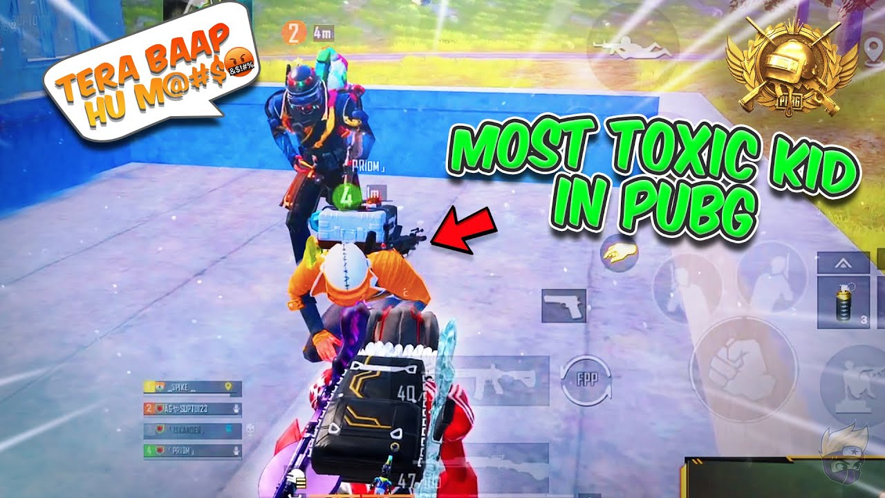 Most Toxic KID In PUBG Mobile Gets OWNED! | Mr Spike