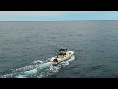 Tuna Fishing Outer Banks Drone Video 2017