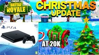 PS4 Slim 500gb - Giveaway Fortnite Battle Royal -20k Subscribers Giveaway