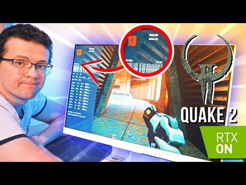 Quake2 с лучами унижает мою 1080ti! :(