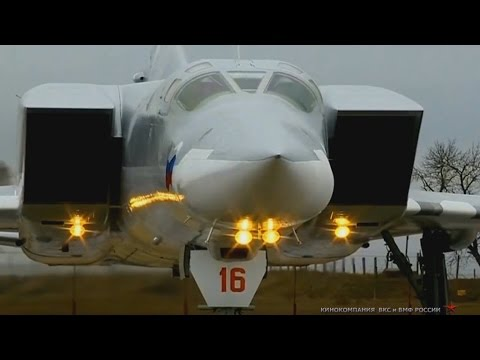 Tu-22M3 'Backfire' operates in Syria (Raw footage)