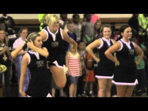 Rison High School Senior 2013 Football Cheer Band Video