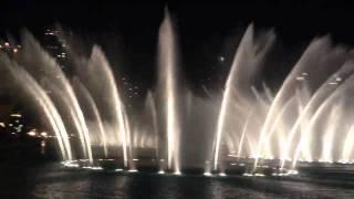 New Year's Eve 2012 - Dubai Fountain