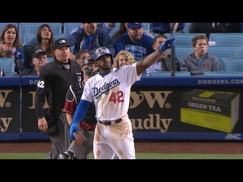 4/15/17: Jackie Robinson Day win capped by Puig homer