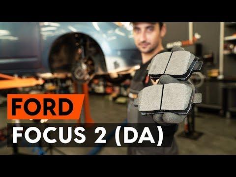 Как заменить передние тормозные колодки на FORD FOCUS 2 (DA) [ВИДЕОУРОК AUTODOC]