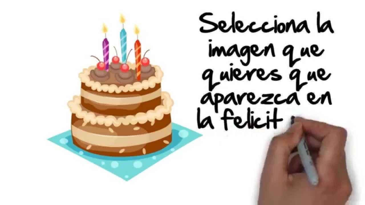 Felicitaciones de cumpleaños feliz personalizadas YouTube