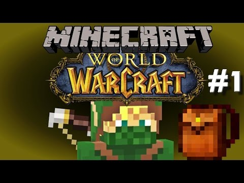 "Minecraft World Of Warcraft (RPG) #1 - ""I'm Going On An Adventure"""