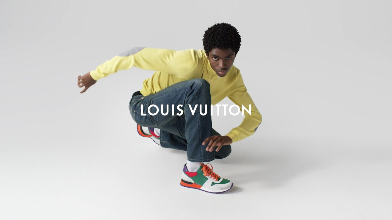 145f5c9fa84d05 Louis Vuitton Now Yours Run Away Sneakers - YouTube