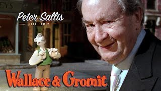 Wallace favourite moments - A tribute to Peter Sallis thumbnail