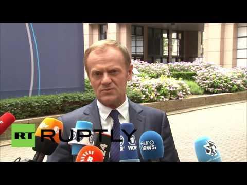 Belgium: EU won't start Brexit talks without initiation from UK – Tusk