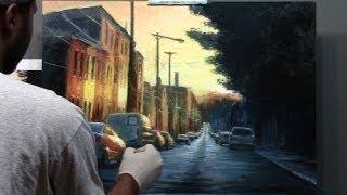 Cityscape Painting Philadelphia 2014