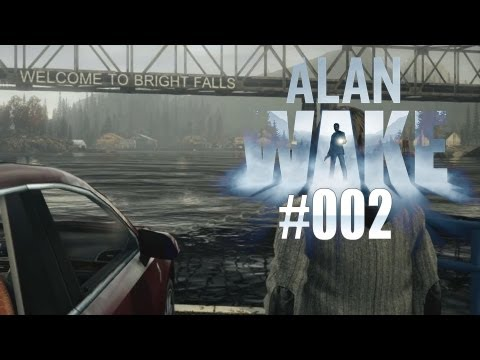 Let's Play Alan Wake #002 [HD/DE/BLIND] - Urlaub in Bright Falls
