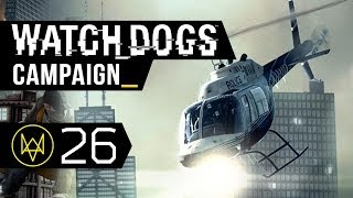 Watch Dogs Walkthrough Part 26 - A Pit Of Paranoia (Act 3, Mission 2 - PC 1080p ULTRA HD)