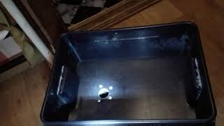 Кошачий туалет с подключением к канализации