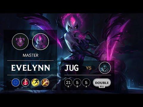 Evelynn Jungle vs Karthus - EUW Master Patch 9.9
