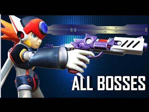 Mega Man X7 - All Bosses (AXL) Hard Mode ~ No Damage