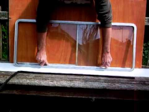 vw t25 t3 sliding window glass removal