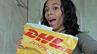 SOFT FEEL HAIR (ALIEXPRESS) UNBOXING/FIRST IMPRESSIONS/REVIEW