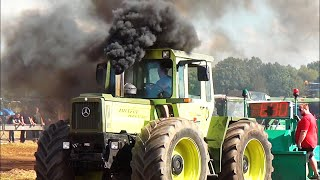 Trecker Treck Bargstedt Standard + S ☠ Teil 1 Tractor Pulling bei Rendsburg