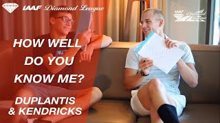 Sam Kendricks & Armand Duplantis play