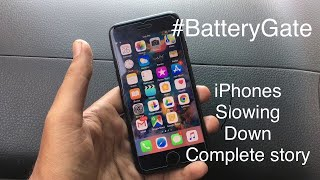 #BatteryGate | Apple Is Deliberately Slowing Down Your iPhone but why?