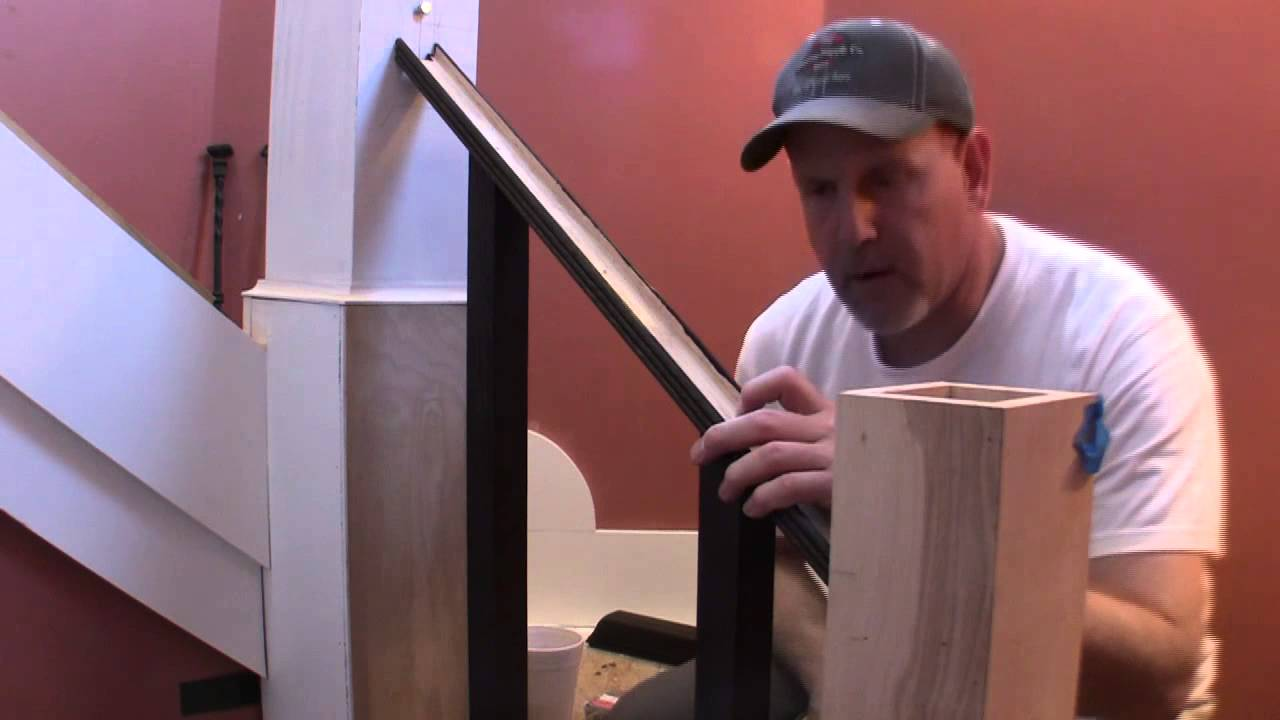 Build Removable Stair Rail Pt 3 Youtube | Detachable Banister And Stair Hand Railing | Stair Case | Half Wall | Modern | Traditional | Mezzanine